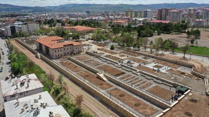 Sivas industrial school museum is preparing for emergency