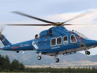Certification flights of civilian gokbey helicopter continue