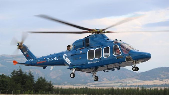 T gokbey general purpose helicopter full size static test begins