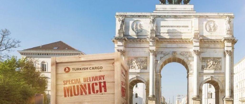 турски терет додат технолошкој престоници немачке мреже теретних летова Мунихи