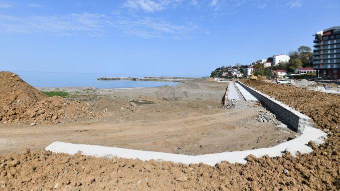 yalincak beach will be caught up to the sea season