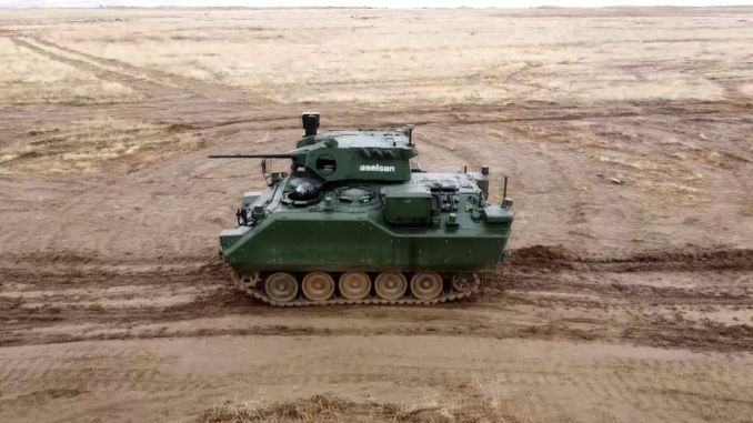 Firing tests were successful in the zma modernization project