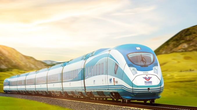 the year passed, the minister changed ankara izmir high speed train project is not finished