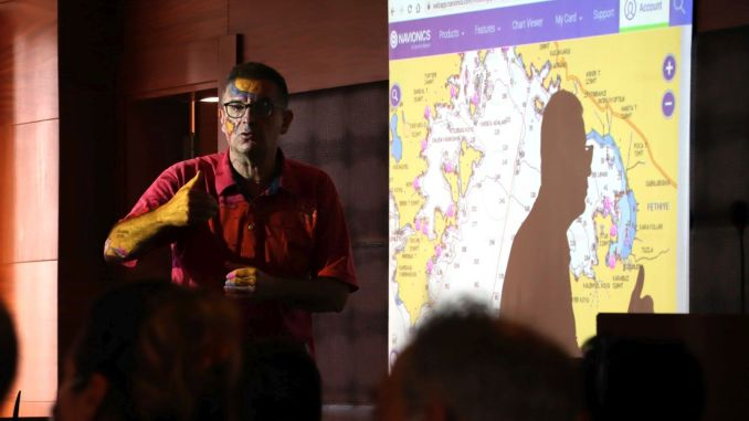 Fethiye Underwater History Park 프로젝트에서 인공 암초 지역 결정