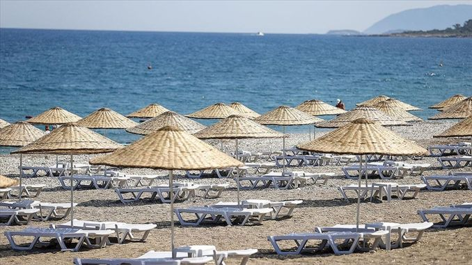 The Ministry of Culture and Tourism's Free Public Beach in Antalya Has Been Opened