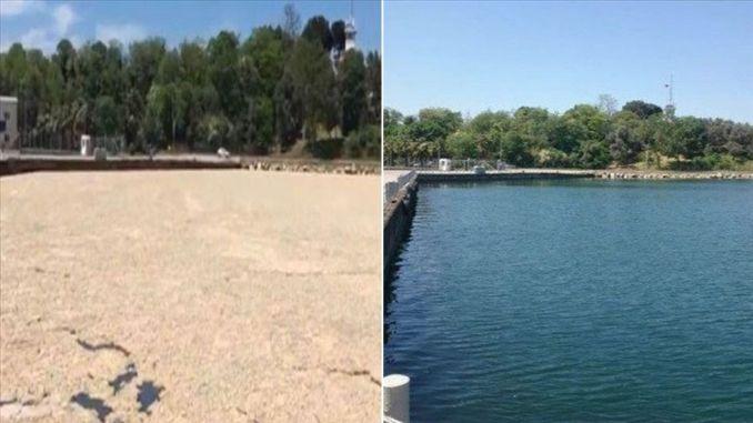 تم تنظيف ألف متر من المسيلاج من بحر مرمرة كل يوم