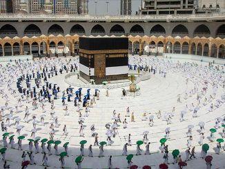 Hajj sprendimas iš Saudo Arabijos leis tik jos piliečiams