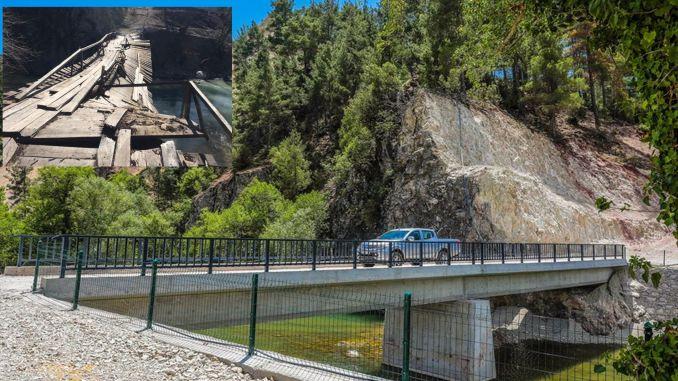 century old bridge problem in acipayam is over