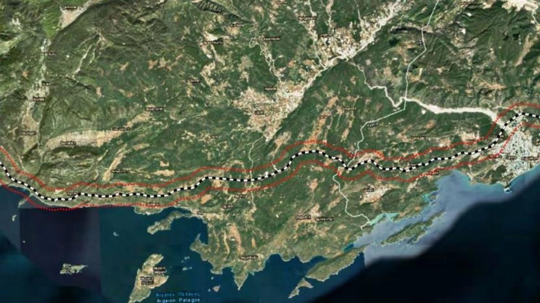 New development on the highway project in antalya