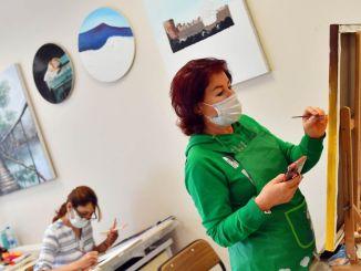 Belmek-kurser åbnede deres døre for kvinder i hovedstaden igen