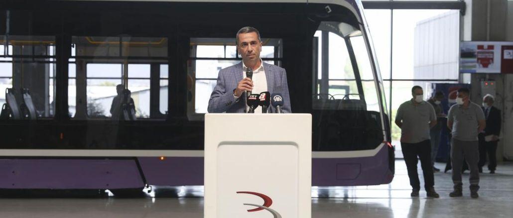 bozankayaThe local tram produced by