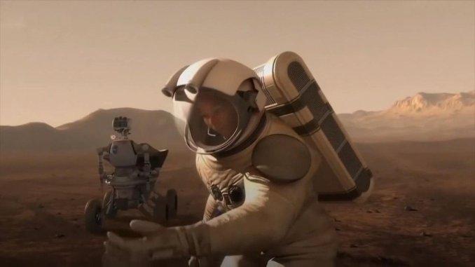 من سنة الجني سيرسل البشر إلى المريخ