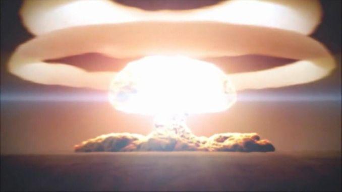 genie tests first hydrogen bomb