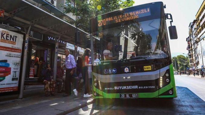 Denizli metropolitan buses are on the way for lgs