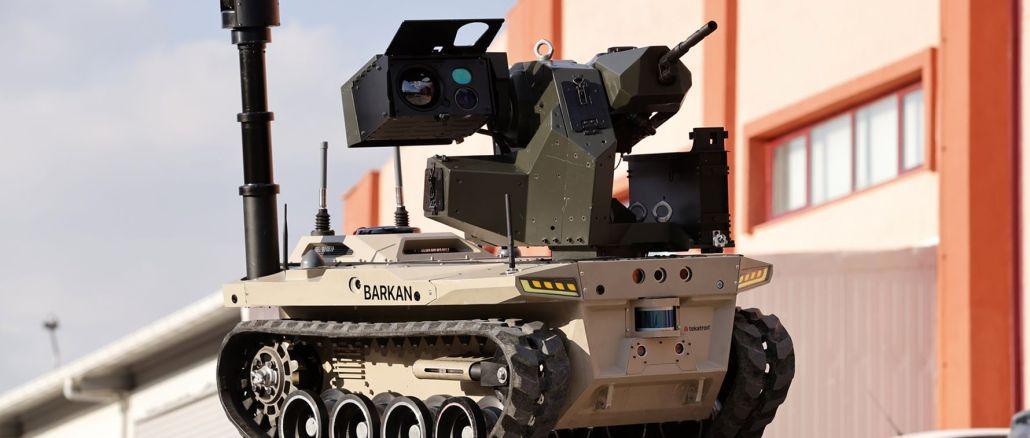 barkan ทหารหุ่นยนต์ของหน่วยดิจิทัลเตรียมพร้อมสำหรับการปฏิบัติหน้าที่