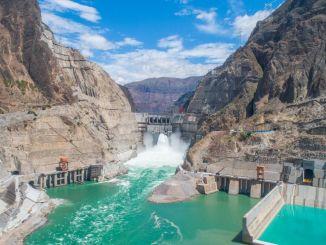 Verdens syvende største dæmning når fuld kapacitet