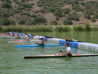 dursu พายเรือแคนู การแข่งขันชิงแชมป์ตุรกีเริ่มต้น