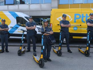 e scooter will now be used in ptt distribution services