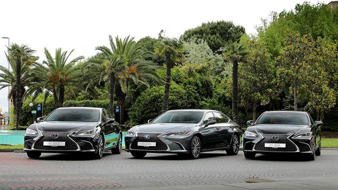 enterprise strengthens its hybrid fleet with lexus es h