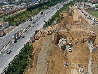 盖布泽巨型工程继续拓宽道路和桥梁建设