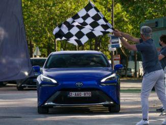 svjetski rekord dosega od Toyota Mirai na vodikov pogon