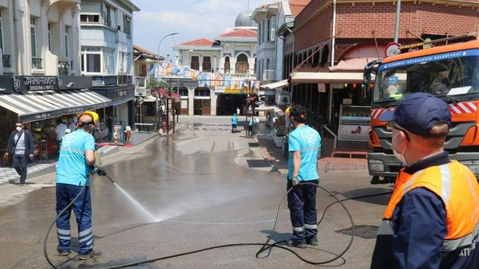 ibb conducted a comprehensive cleaning study on the islands
