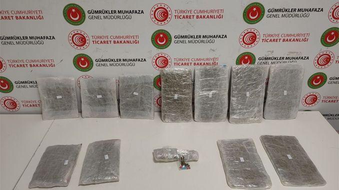 istanbul havalimaninda uyusturucu tasiyan bes kurye yakalandi