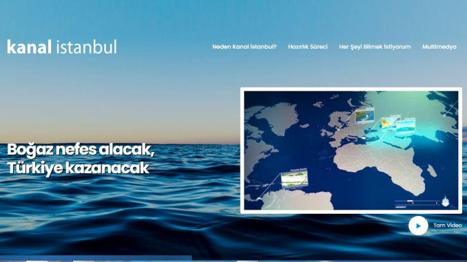 موقع قناة اسطنبول