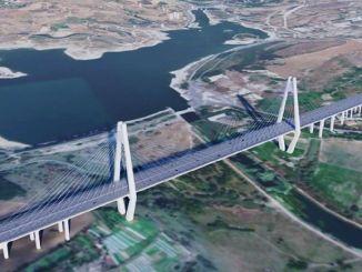 Stambulas kanāla garums būs km, platums - metri un dziļums - metri.