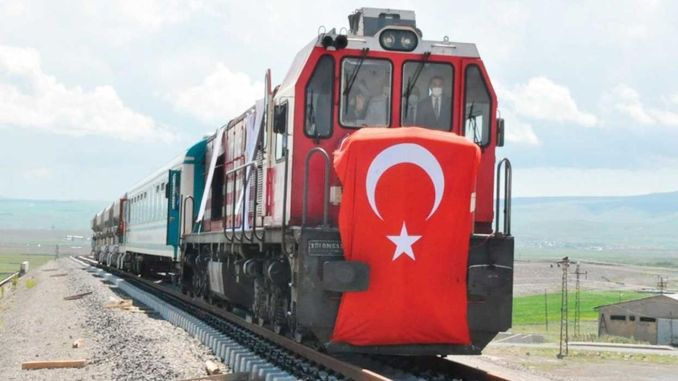 It was decided to continue the feasibility studies for the kars nahcivan railway project