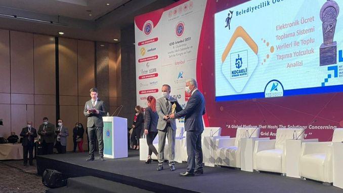 Prix de la municipalité pour les projets de transport public de Kocaeli