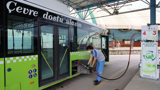 million savings per month with eco-friendly buses in Kocaeli