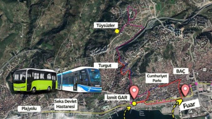 tram transfer services are starting in Kocaeli, good news to those who use the line