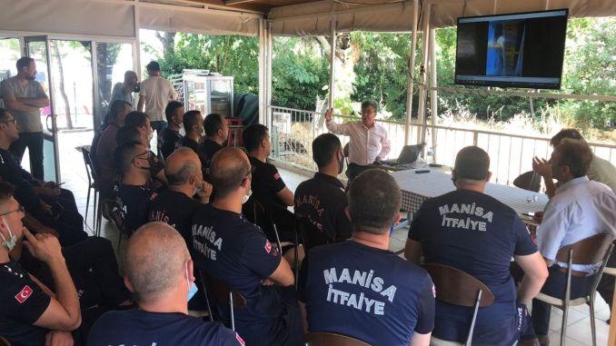 التدريب المتبادل على إطلاق النار بين مانيسا بويوكسيهير و تي سي دي دي