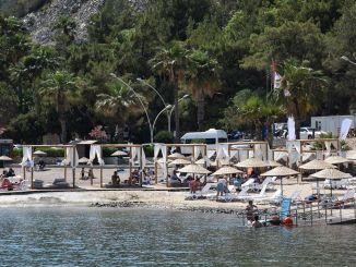 Marmaris Icmeler gratis offentlig strand tatt i bruk