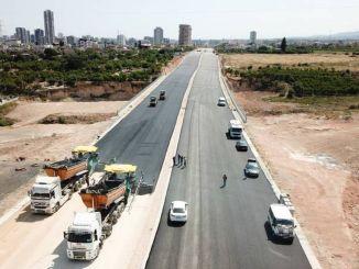 Arbejderne for Mersin-ringvejen fortsætter med fuld hastighed