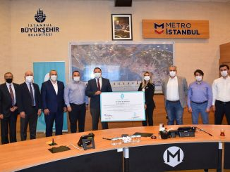important signature from metro istanbul