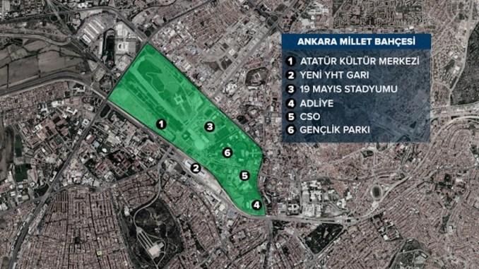 Ankara Millet Bahçesi Genel Görünüm