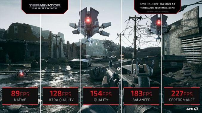 oyunlarda amd fidelityfx super resolution teknolojisi