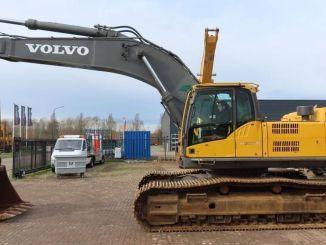 crawler excavator and backhoe loader rental business