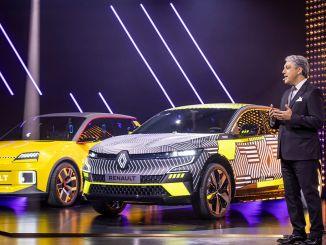 Xe điện đến từ tập đoàn Renault