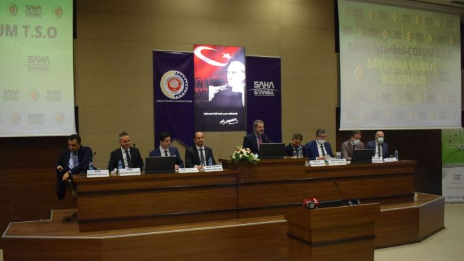 field met with industrialists from istanbul corum