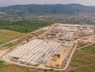 Det kontroversielle siste bildet av fabrikken til toggfabrikken har blitt delt