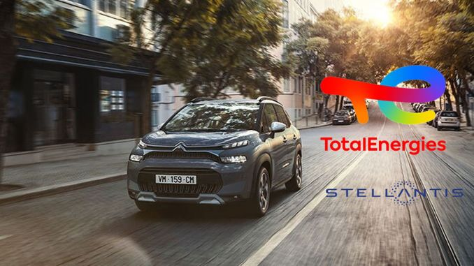 totalenergies and stellantis renewed their partnership with peugeot citroen and ds automobiles
