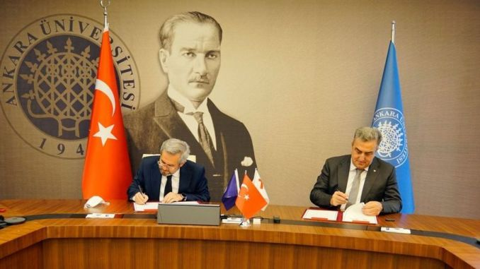 Ankara University signed a cooperation protocol with the Turkish Space Agency