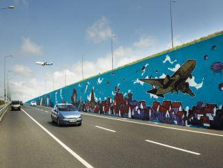 Najveći turski grafiti na aerodromu u Istanbulu