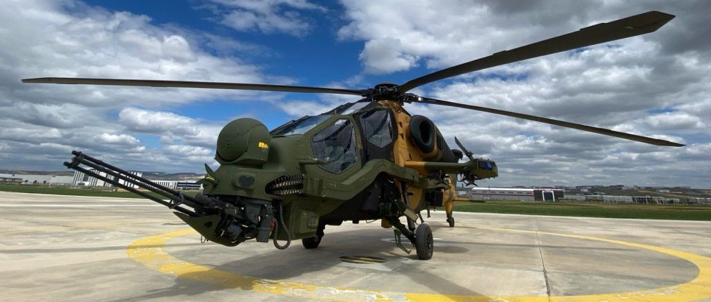 t attack helicopter delivery from tusas to land forces command