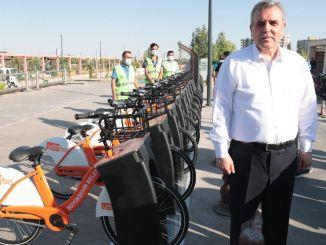 urfabis akilli bisiklet projesi hizmete girdi
