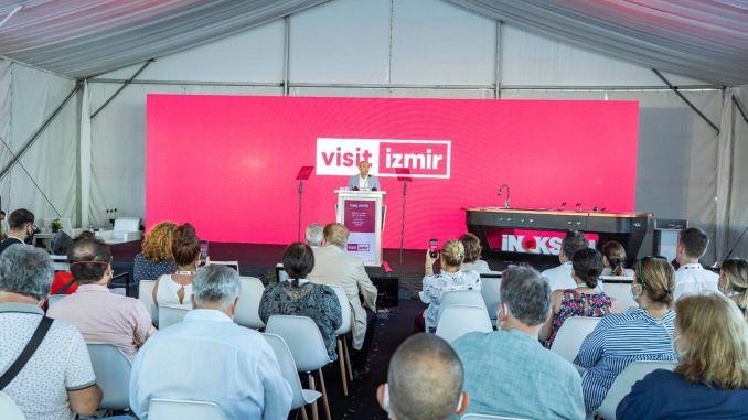 تم تقديم تطبيق Visitizmir للهاتف المحمول في اسطنبول