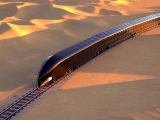 million dollar luxury train concept emerged